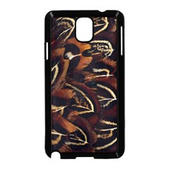 Feathers Bird Black Samsung Galaxy Note 3 Neo Hardshell Case (black) by Simbadda