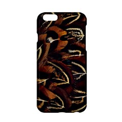 Feathers Bird Black Apple Iphone 6/6s Hardshell Case by Simbadda
