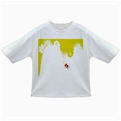 Fish Underwater Yellow White Infant/toddler T Shirts by Simbadda
