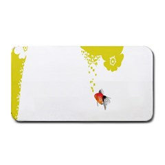 Fish Underwater Yellow White Medium Bar Mats by Simbadda