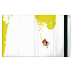 Fish Underwater Yellow White Apple Ipad 2 Flip Case by Simbadda