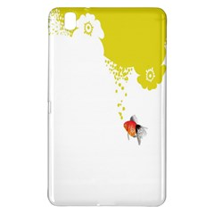 Fish Underwater Yellow White Samsung Galaxy Tab Pro 8 4 Hardshell Case by Simbadda