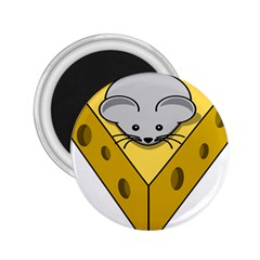 Cheese Mose Yellow Grey 2 25  Magnets
