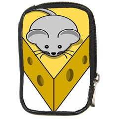Cheese Mose Yellow Grey Compact Camera Cases by Alisyart