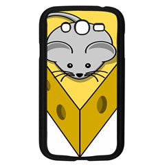 Cheese Mose Yellow Grey Samsung Galaxy Grand Duos I9082 Case (black) by Alisyart