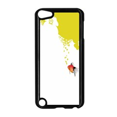 Fish Underwater Yellow White Apple Ipod Touch 5 Case (black) by Simbadda