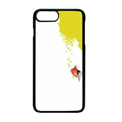Fish Underwater Yellow White Apple Iphone 7 Plus Seamless Case (black) by Simbadda