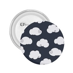 Cloud White Gray Sky 2 25  Buttons by Alisyart