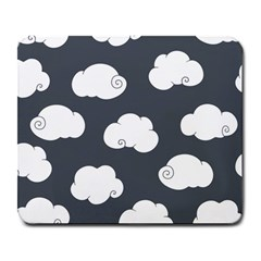 Cloud White Gray Sky Large Mousepads
