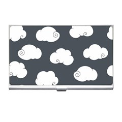 Cloud White Gray Sky Business Card Holders