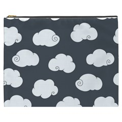 Cloud White Gray Sky Cosmetic Bag (xxxl)  by Alisyart