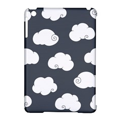 Cloud White Gray Sky Apple Ipad Mini Hardshell Case (compatible With Smart Cover) by Alisyart