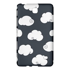 Cloud White Gray Sky Samsung Galaxy Tab 4 (8 ) Hardshell Case  by Alisyart