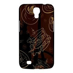Coffe Break Cake Brown Sweet Original Samsung Galaxy Mega 6 3  I9200 Hardshell Case by Alisyart