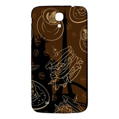 Coffe Break Cake Brown Sweet Original Samsung Galaxy Mega I9200 Hardshell Back Case by Alisyart