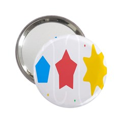 Evolution Jumsoft Star 2 25  Handbag Mirrors by Alisyart