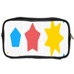 Evolution Jumsoft Star Toiletries Bags 2 Side by Alisyart
