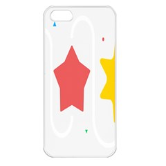 Evolution Jumsoft Star Apple Iphone 5 Seamless Case (white) by Alisyart
