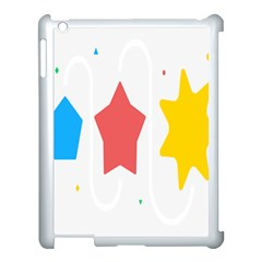 Evolution Jumsoft Star Apple Ipad 3/4 Case (white)