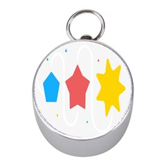 Evolution Jumsoft Star Mini Silver Compasses by Alisyart
