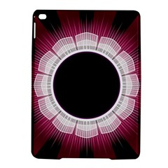 Circle Border Hole Black Red White Space Ipad Air 2 Hardshell Cases by Alisyart