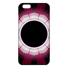 Circle Border Hole Black Red White Space Iphone 6 Plus/6s Plus Tpu Case by Alisyart