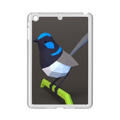Animals Bird Green Ngray Black White Blue Ipad Mini 2 Enamel Coated Cases
