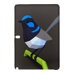 Animals Bird Green Ngray Black White Blue Samsung Galaxy Tab Pro 10 1 Hardshell Case by Alisyart