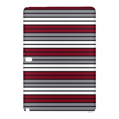 Fabric Line Red Grey White Wave Samsung Galaxy Tab Pro 12 2 Hardshell Case