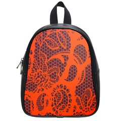 Enlarge Orange Purple School Bags (small)  by Alisyart