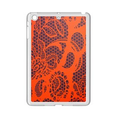 Enlarge Orange Purple Ipad Mini 2 Enamel Coated Cases by Alisyart