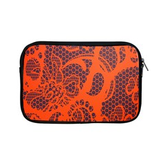 Enlarge Orange Purple Apple Ipad Mini Zipper Cases by Alisyart