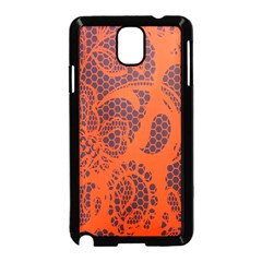 Enlarge Orange Purple Samsung Galaxy Note 3 Neo Hardshell Case (black)
