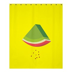 Fruit Melon Sweet Yellow Green White Red Shower Curtain 60  X 72  (medium)  by Alisyart