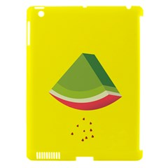 Fruit Melon Sweet Yellow Green White Red Apple Ipad 3/4 Hardshell Case (compatible With Smart Cover) by Alisyart