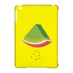 Fruit Melon Sweet Yellow Green White Red Apple Ipad Mini Hardshell Case (compatible With Smart Cover)