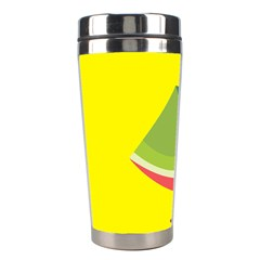 Fruit Melon Sweet Yellow Green White Red Stainless Steel Travel Tumblers by Alisyart