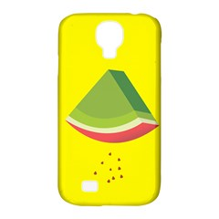 Fruit Melon Sweet Yellow Green White Red Samsung Galaxy S4 Classic Hardshell Case (pc+silicone) by Alisyart