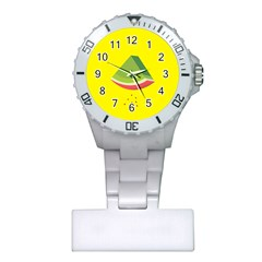 Fruit Melon Sweet Yellow Green White Red Plastic Nurses Watch