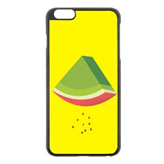 Fruit Melon Sweet Yellow Green White Red Apple Iphone 6 Plus/6s Plus Black Enamel Case by Alisyart