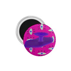 Eye Purple Pink 1 75  Magnets by Alisyart