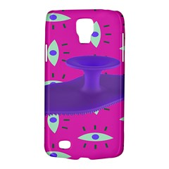 Eye Purple Pink Galaxy S4 Active