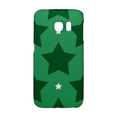 Green White Star Galaxy S6 Edge by Alisyart
