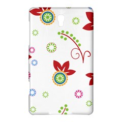 Floral Flower Rose Star Samsung Galaxy Tab S (8 4 ) Hardshell Case
