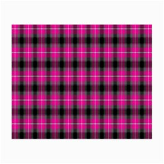 Cell Background Pink Surface Small Glasses Cloth (2 Side) by Simbadda