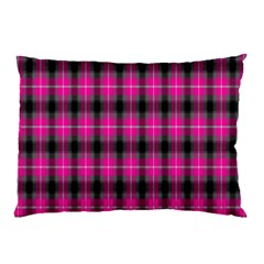 Cell Background Pink Surface Pillow Case by Simbadda