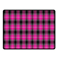 Cell Background Pink Surface Fleece Blanket (small)