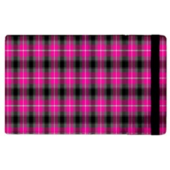 Cell Background Pink Surface Apple Ipad 3/4 Flip Case by Simbadda