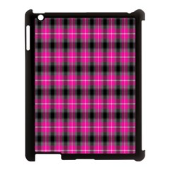 Cell Background Pink Surface Apple Ipad 3/4 Case (black) by Simbadda