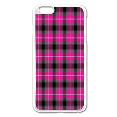 Cell Background Pink Surface Apple Iphone 6 Plus/6s Plus Enamel White Case